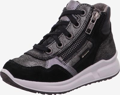 Scarpa bassa 'MERIDA' SUPERFIT di colore nero / argento, Visualizzazione prodotti