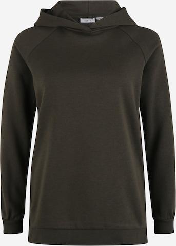 Noisy May Petite Sweatshirt 'HELENE' in Braun
