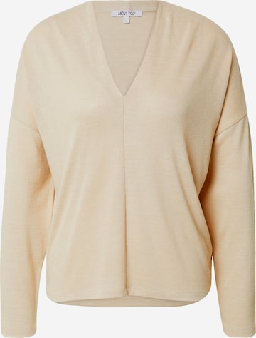 ABOUT YOU Skjorte 'Cara' i beige