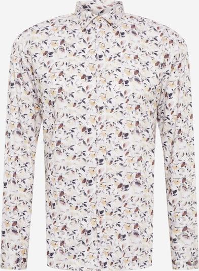 CINQUE Overhemd 'SPUKY' in de kleur Camel / Karamel / Mauve / Violetblauw / Wit, Productweergave