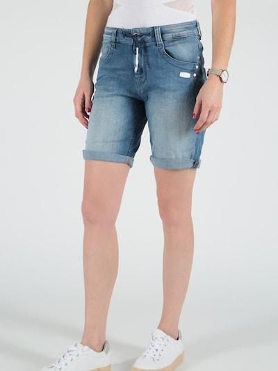 Miracle of Denim Jeans in Blue denim, View model
