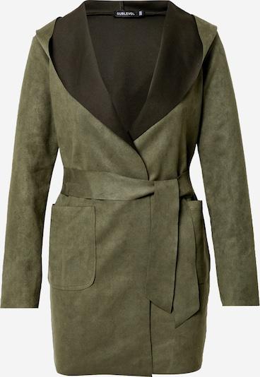 Cappotto di mezza stagione 'D45362F43405A' Sublevel di colore verde scuro, Visualizzazione prodotti