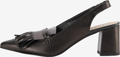 usha BLACK LABEL Escarpins en noir, Vue avec produit