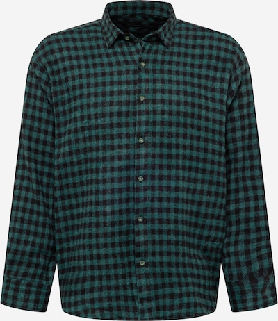 Trendyol Button Up Shirt in Green / Black, Item view