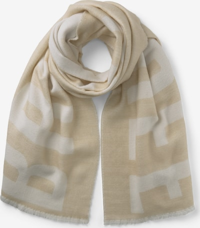 TOM TAILOR Scarf in Beige / White, Item view