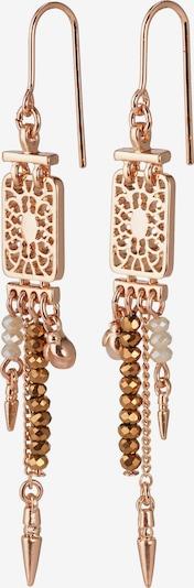 Pilgrim Kolczyki 'Legacy' w kolorze różowe złoto / perłowo białym, Podgląd produktu