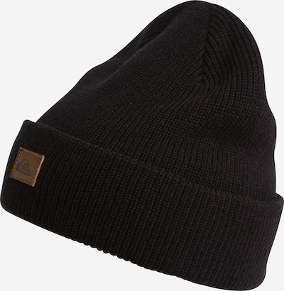 QUIKSILVER Beanie 'PERFORMED' in Caramel / Black, Item view