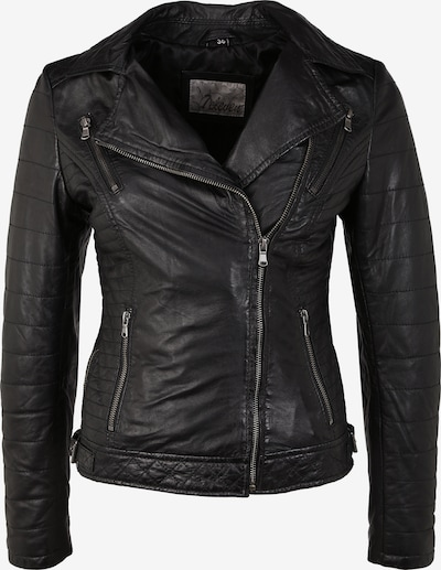 7ELEVEN Lederjacke 'Locky' in schwarz, Produktansicht