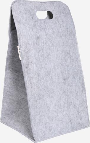Cesta per il bucato 'Filztasche' di ABOUT YOU in grigio