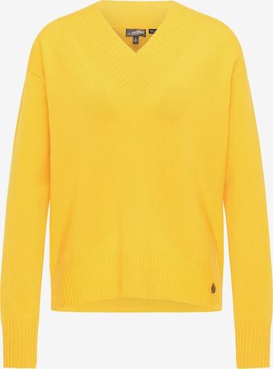 DreiMaster Vintage Pull-over en jaune, Vue avec produit