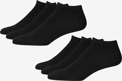 Marc O'Polo Bodywear Sneakersocken ' 6-Pack No Look ' in schwarz, Produktansicht