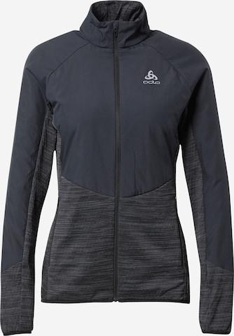 ODLO Athletic Jacket in Black