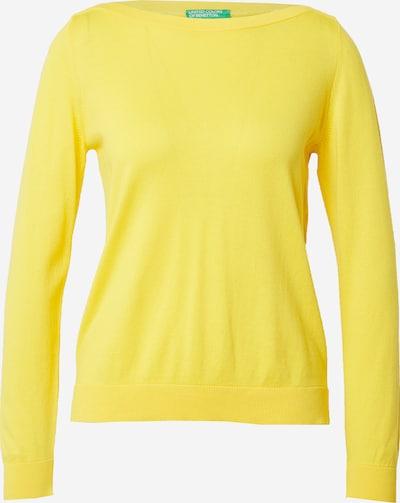 Megztinis iš UNITED COLORS OF BENETTON , spalva - geltona, Prekių apžvalga