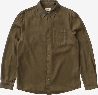 Nudie Jeans Co Hemd 'Chuck Fluid Twill' in braun, Produktansicht
