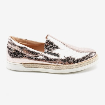 Love Moschino Flats & Loafers in 36 in Silver