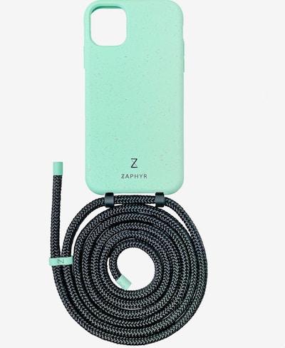 ZAPHYR Handyhülle mit Handykette 'iPhone 11' in mint, Produktansicht