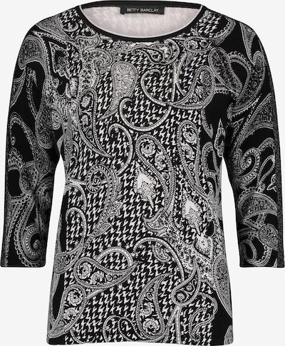 Betty Barclay Strickpullover mit 3/4 Arm in schwarz, Produktansicht