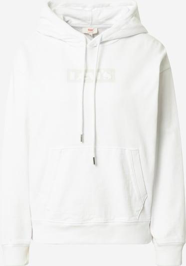 LEVI'S Sweatshirt in de kleur Lichtgrijs / Wit, Productweergave