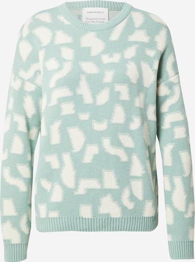ARMEDANGELS Sweater 'OLESSYAA' in Green / White, Item view
