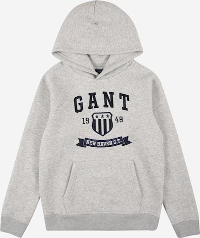 GANT Sweatshirt in de kleur Nachtblauw / Grijs gemêleerd, Productweergave