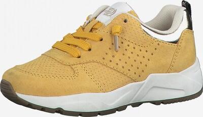 s.Oliver Sneaker in goldgelb / silber, Produktansicht