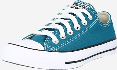 CONVERSE Låg sneaker 'Chuck Taylor All Star' i petrol / vit, Produktvy