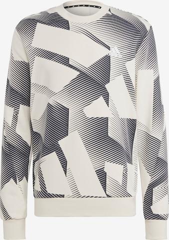 ADIDAS PERFORMANCE Sweatshirt in Beige
