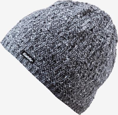 Eisbär Mütze 'Tilia' in graumeliert / schwarz / weiß, Produktansicht