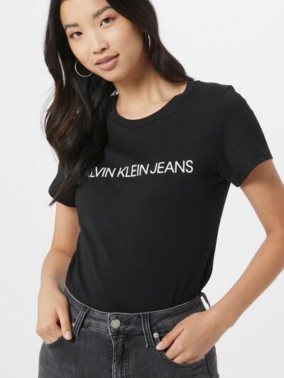 Calvin Klein Jeans Majica u crna: Prednji pogled