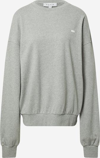 NU-IN Sweatshirt in grau, Produktansicht