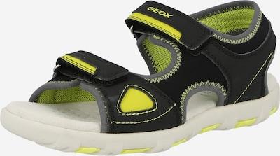 GEOX Kids Otvorená obuv 'Pianeta' - žltá / čierna, Produkt