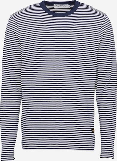 Tricou 'NEZER' Kings Of Indigo pe bleumarin / alb, Vizualizare produs