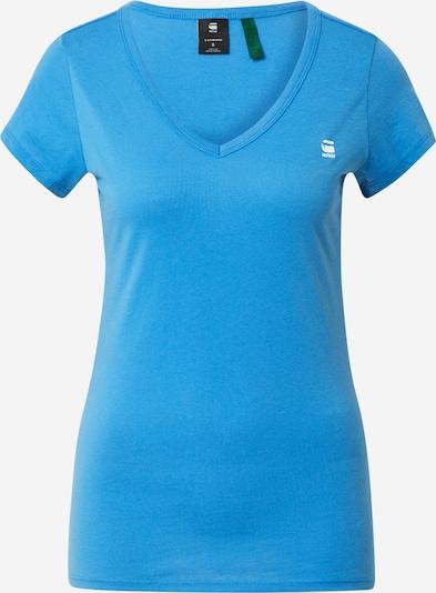 G-Star RAW Shirt 'Eyben' in blau / weiß, Produktansicht