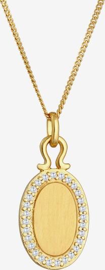 ELLI PREMIUM Halskette Geo in gold, Produktansicht