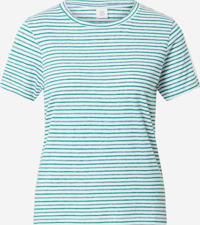 Tricou Kauf Dich Glücklich pe albastru porumbel / albastru deschis / verde smarald / alb, Vizualizare produs