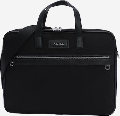 Calvin Klein Sac d'ordinateur portable 'Urban Utility' en noir / argent, Vue avec produit
