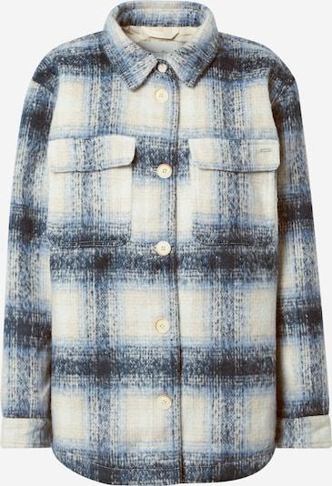 TOM TAILOR DENIM Jacke in beige / blau, Produktansicht