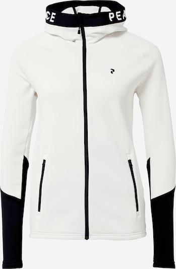PEAK PERFORMANCE Jacke in schwarz / weiß, Produktansicht
