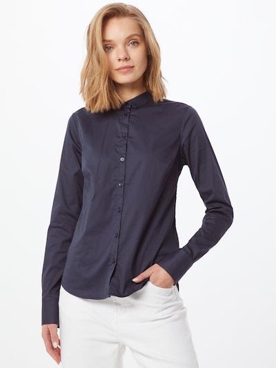 MOS MOSH Bluse 'Tilda' in dunkelblau, Modelansicht