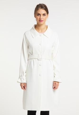 usha BLACK LABEL Mantel in Weiß