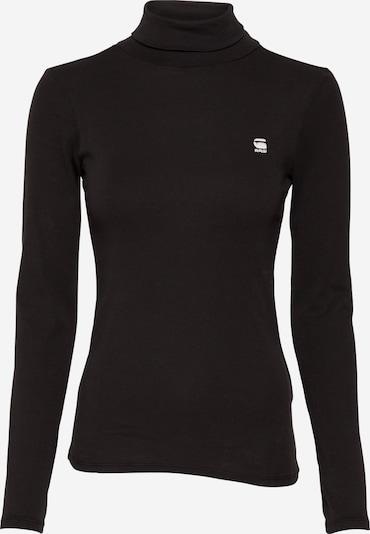 G-Star RAW T-shirt ' Xinva Slim Turtle ' en noir, Vue avec produit
