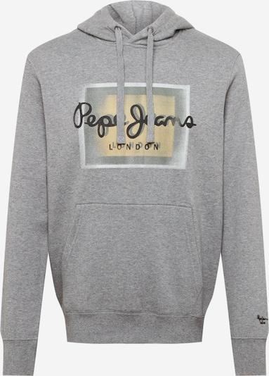 Bluză de molton 'IÑAKI' Pepe Jeans pe ecru / gri deschis / negru / alb, Vizualizare produs