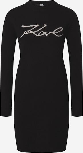 Karl Lagerfeld Košulja haljina u crna / bijela, Pregled proizvoda