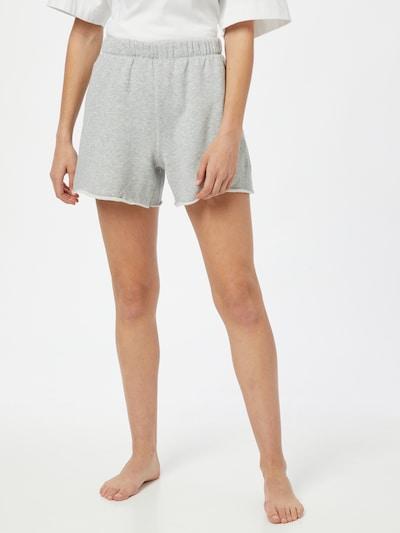 AERIE Kalhoty - šedý melír, Model/ka