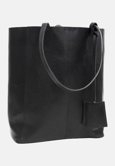 Gusti Leder Shopper 'Cassidy' in schwarz, Produktansicht