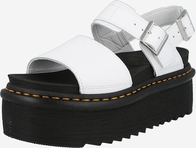 Sandale cu baretă 'Voss Quad' Dr. Martens pe alb, Vizualizare produs