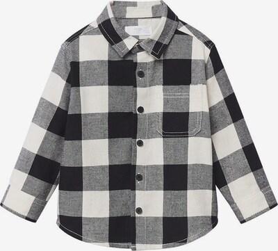 MANGO KIDS Риза 'Lenny' в черно / бяло, Преглед на продукта