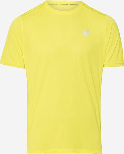 new balance Sportshirt in gelb, Produktansicht
