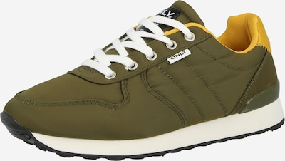 ONLY Sneakers 'SAHEL' in yellow gold / Khaki, Item view