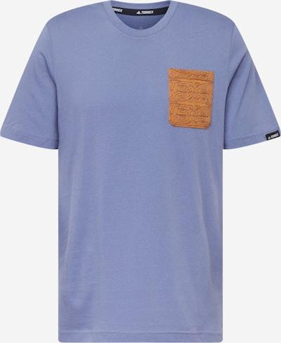 ADIDAS PERFORMANCE T-Shirt fonctionnel en cognac / lilas, Vue avec produit